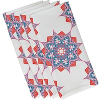 19-inch x 19-inch Rhapsody Geometric Print Napkin