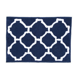 Jill Rosenwald Hampton Links 20x30 Bath Rug
