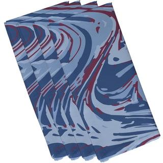 19-inch x 19-inch Marble Blend Geometric Print Napkin