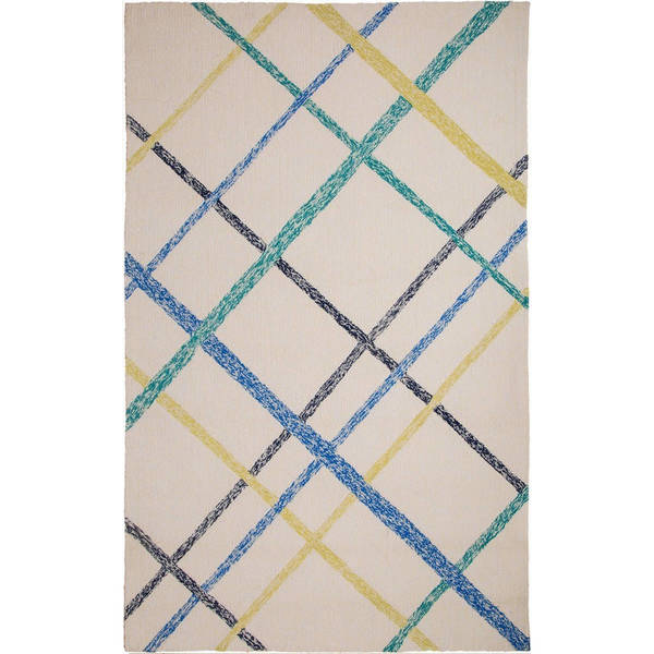 M.A.Trading Hand-tufted Chinese Lienzo Ivory/Blue Rug (8' x 10')
