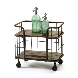 Hip Vintage Farmhouse Bar Cart