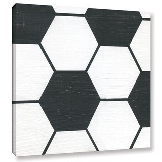 Alli Rogosich's 'Soccer' Gallery Wrapped Canvas