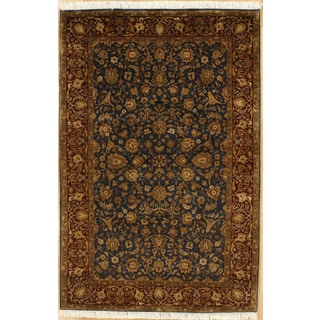 Hand Knotted Classic Agra Design Rug (5'9 x 8'10)