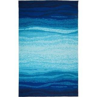 M.A.Trading Hand-tufted Chinese Vista Blue/Turquoise Rug (9' x 12')