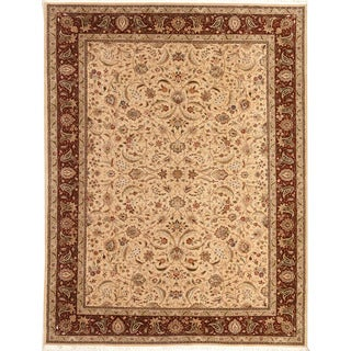 Hand Knotted Tabriz Design Rug (4' x 6')