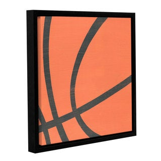 Alli Rogosich's 'BasketBall' Gallery Wrapped Floater-framed Canvas