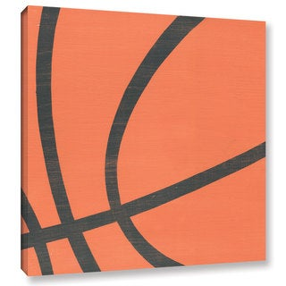 Alli Rogosich's 'BasketBall' Gallery Wrapped Canvas
