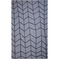 M.A.Trading Hand-tufted Chinese Shadow Light Grey Rug (8' x 10')