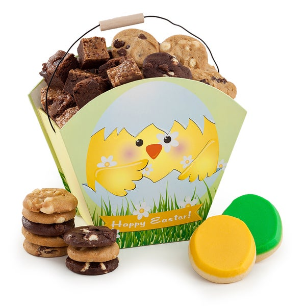Mrs. Fields Charming Chick Crate with Treats