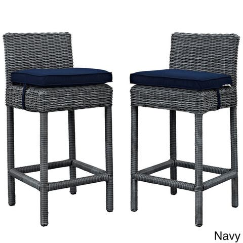 Invite Outdoor Bar Stools (2 Piece)