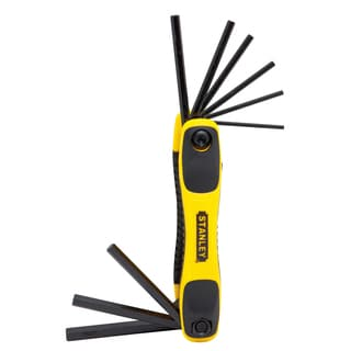 Stanley STHT71839 Folding Metric Hex Keys 9-count