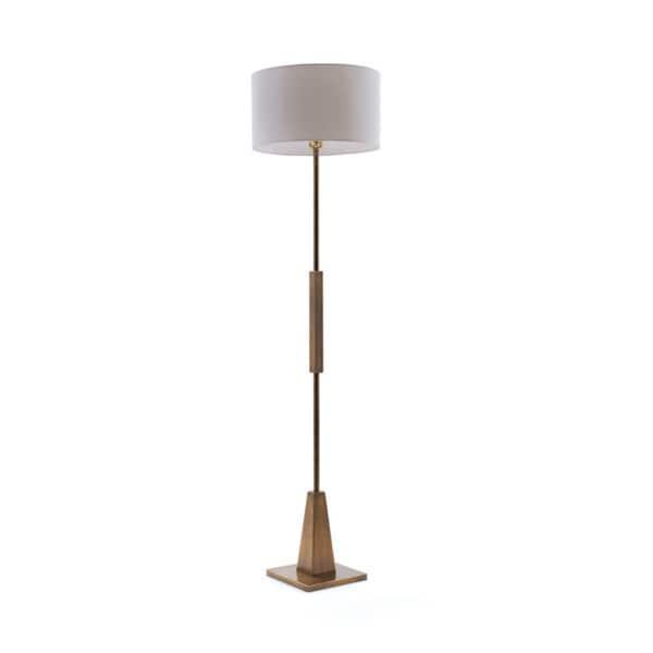 Hippy Brass Floor Lamp