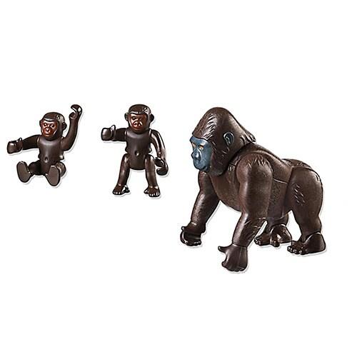 Playmobil Gorilla with Babies Building Kit