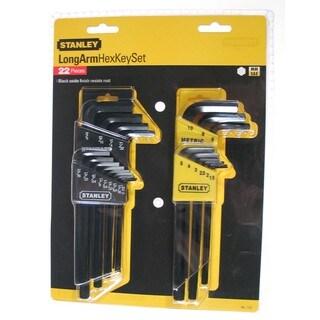 Stanley Hand Tools 85-753 22 Piece Long Arm Hex Key Set