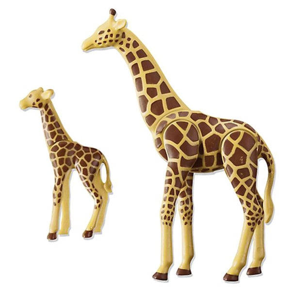 Playmobil Giraffe with Calf Building Kit