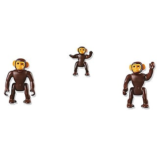 Playmobil Chimpanzee Family Building Kit