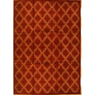 Hand Knotted Fine Nepal Weave Rug (4' x 6')