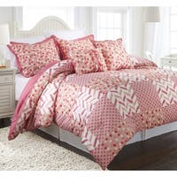 Nanshing Piper Reversible 5-piece Comforter Set