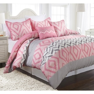 Maddy Reversible 5-piece Comforter Set