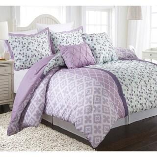 Nanshing Abigail Reversible 4-piece Comforter Set