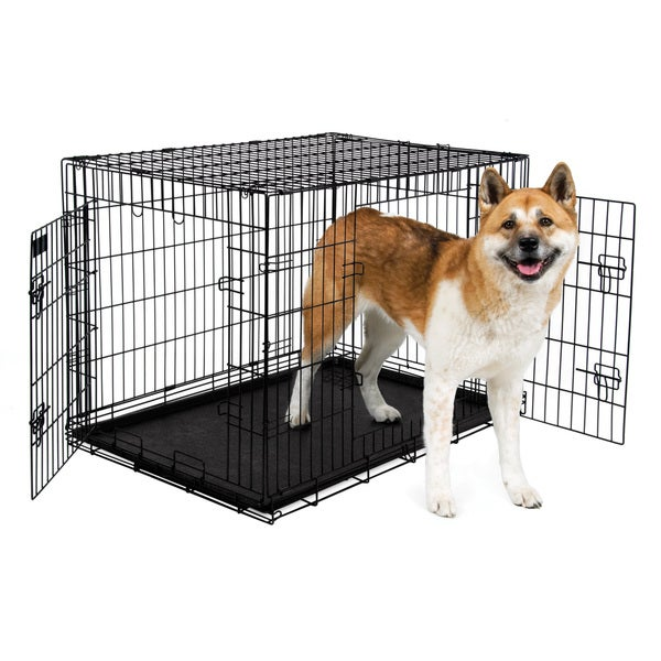 Petmate Doors 41037 Compass Fashion Pets Kennel with Chrome Door Hot