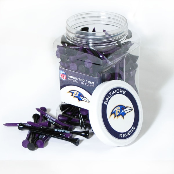 NFL Baltimore Ravens Multi-colored 175 Tee Jar