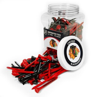 NHL Chicago Blackhawks Multi-colored 175 Tee Jar