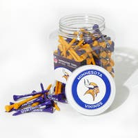 NFL Minnesota Vikings Multi-colored 175 Tee Jar