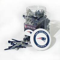 NFL New England Patriots Multi-colored 175 Tee Jar