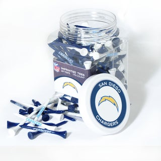 NFL San Diego Chargers Multi-colored 175 Tee Jar