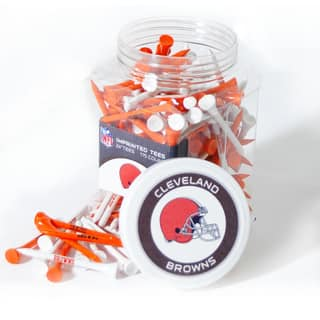 NFL Cleveland Browns Multi-colored 175 Tee Jar|https://ak1.ostkcdn.com/images/products/11593966/P18533350.jpg?impolicy=medium