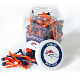NFL Denver Broncos Multi-colored 175 Tee Jar|https://ak1.ostkcdn.com/images/products/11593968/P18533351.jpg?impolicy=medium