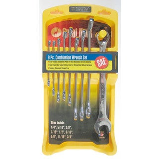 Great Neck 4928 9 Peice SAE Combination Wrench Set