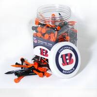 NFL Cincinnati Bengals Multi-colored 175 Tee Jar