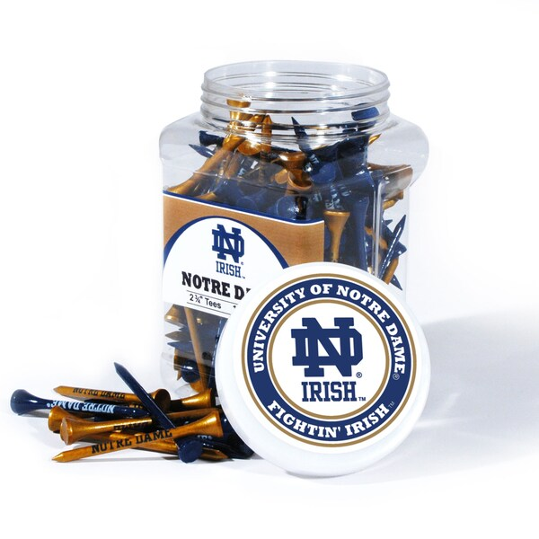 NCAA Notre Dame Fighting Irish Multi-colored 175 Tee Jar