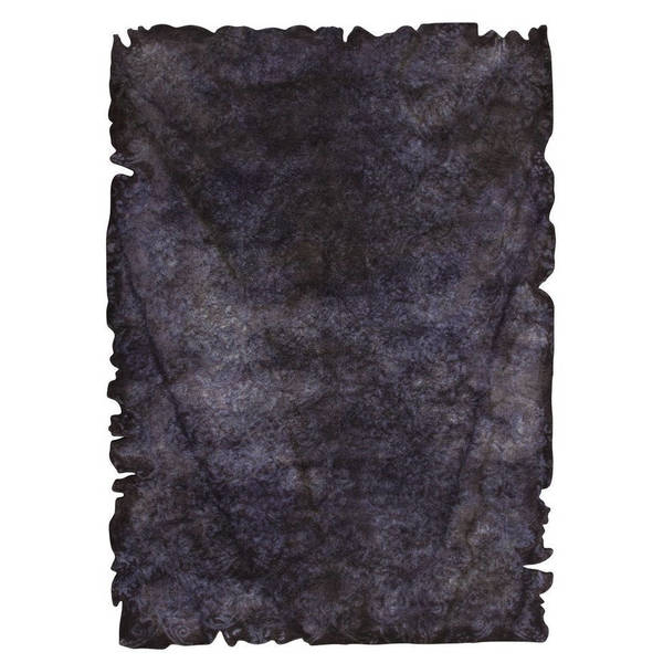 M.A.Trading Hand-tufted Indo Jalwa 2 Charcoal Rug (7'10 x 9'10)