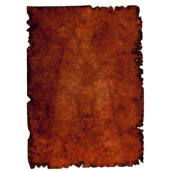M.A.Trading Hand-tufted Indo Jalwa 2 Rust Rug - 7'10 x 9'10