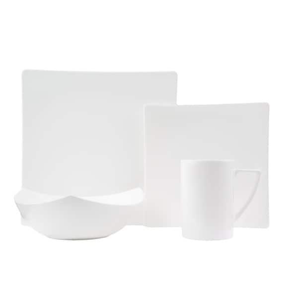 Extreme White 16-piece Dinner Set