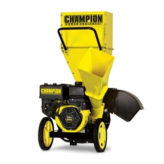 Champion Power Equipment 3-inch 338cc Gas Powered Chipper Shredder