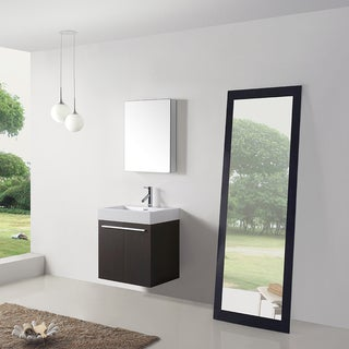 Virtu USA Midori 24-inch Single Bathroom Vanity Set with Faucet