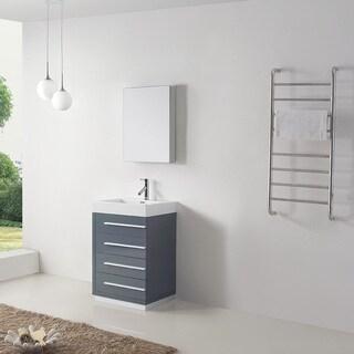 Virtu USA Bailey 24-inch Single Bathroom Vanity Set with Faucet