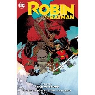 Robin Son of Batman 1: Year of Blood (Paperback)