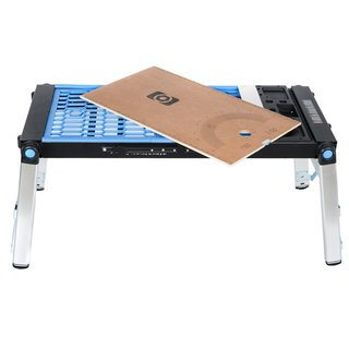 Hico Uwis04 4-in-1 Multi-function Portable Folding Work Table For Workbench Scaffold Platform and Creeper Carrier and Hand Truck