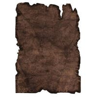 Handmade Indo Jalwa 1 Dark Brown Rug - 7'10 x 9'10 (India)