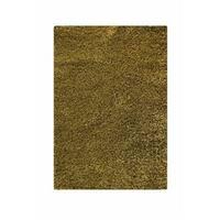 Handmade M.A.Trading Indo Twilight Green Rug (5'2 x 7'6) (India)
