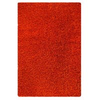 M.A.Trading Hand-tufted Indo Twilight Orange Rug (5'2 x 7'6)