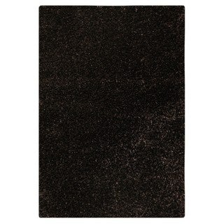M.A.Trading Hand-tufted Indo Twilight Charcoal Rug (5'2 x 7'6)