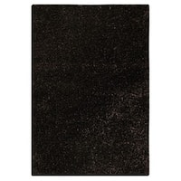 M.A.Trading Hand-tufted Indo Twilight Charcoal Rug - 5'2 x 7'6