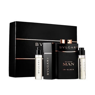 Bvlgari Man in Black 4-piece Gift Set