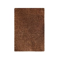 M.A.Trading Hand-tufted Indo Twilight Brown Rug (5'2 x 7'6)